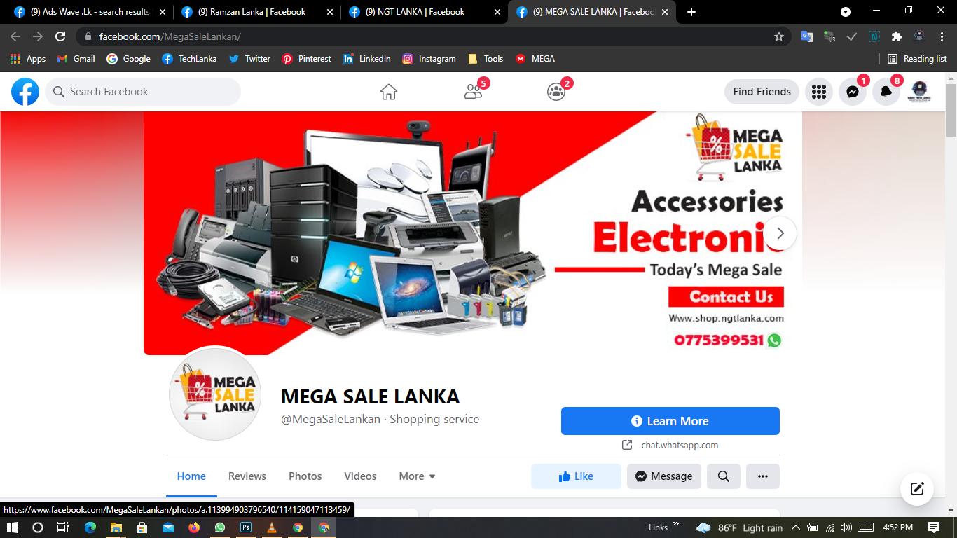 Mega Sale Lanka SSM