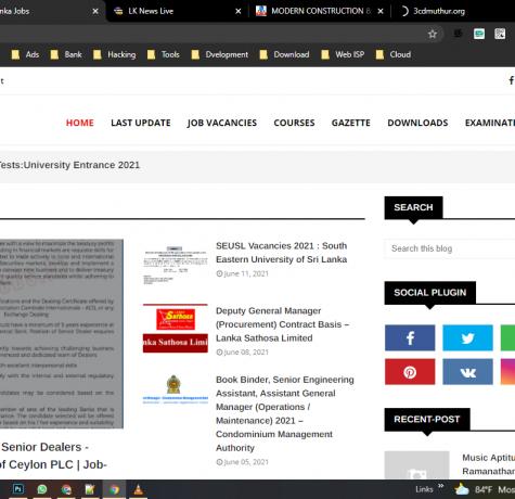 E Lanka Jobs - We are Publishing Government Jobs as well as Private Sectors Jobs Vacancies in Sri Lanka (www.jobs.ngtlanka.com) ✅🏢☺️