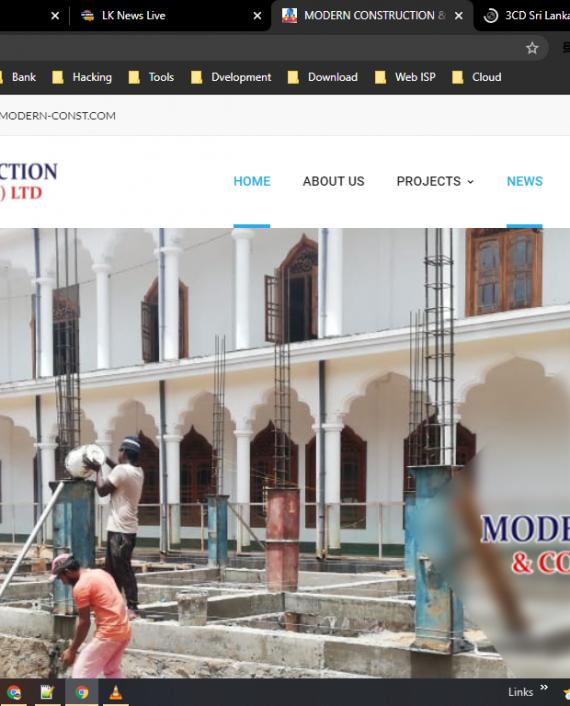 Modern Constructing & Consultant (PVT) Ltd.